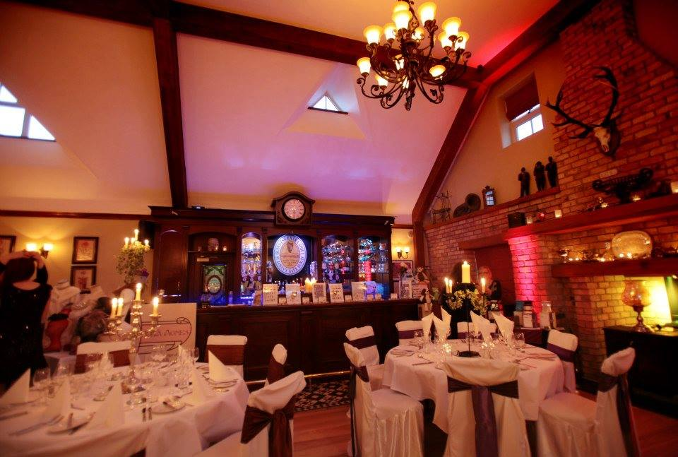 Weddings in the thatched Banquet Room.