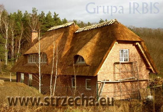 Thatched Roof Construction.