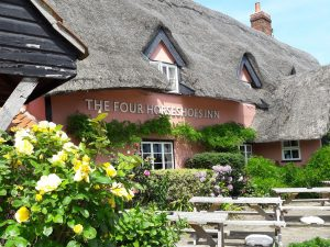 The Four Horseshoes Inn is on ThatchFinder