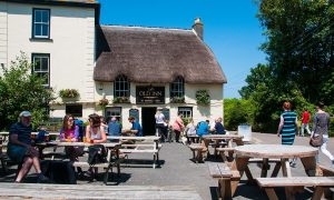 The Old Thatched Inn in Mullion, Cornwall is on Thatch Finder. Thatched Pub and Accommodation.