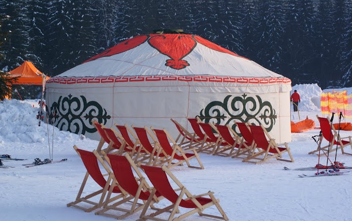 ski resort 8m yurt