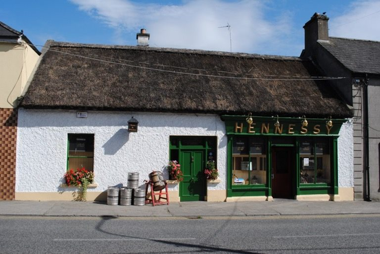 Thatched Gastropub in Ferbane, County Offaly, Ireland