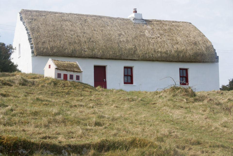 Aran Thatched Cottage, Inis Mor, County Galway, Ireland