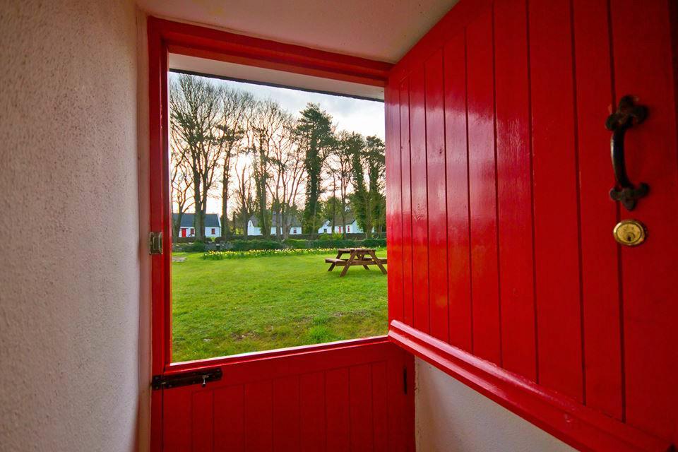 Half Door at Lough Derg Thatched Cottages - Thatch Finder