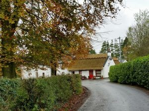 Thatched Pub in Fisherstown, County Laois, Ireland