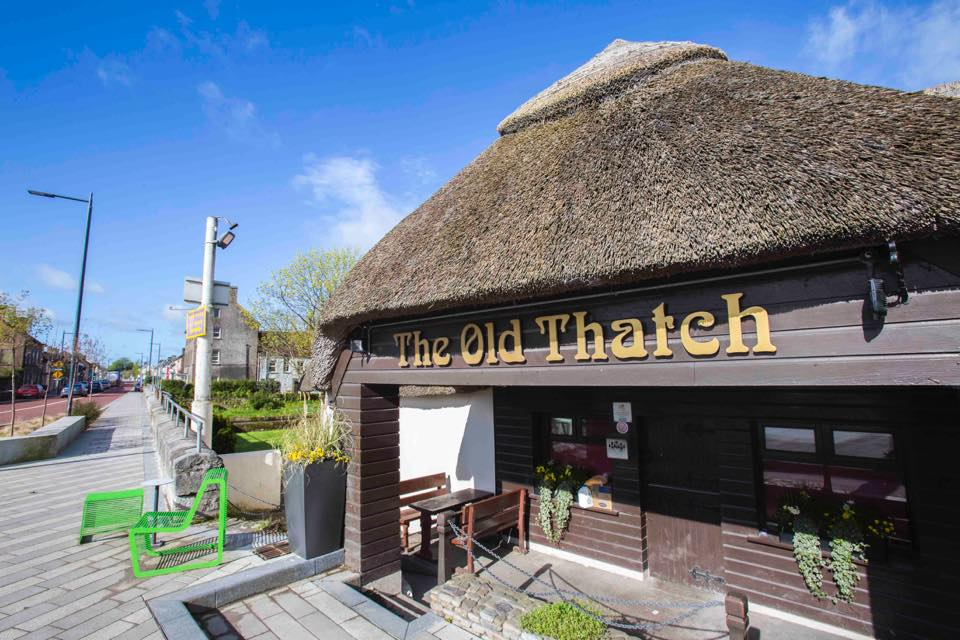 The Old Thatch Bar and Restaurant, Killeagh, County Cork, Ireland.