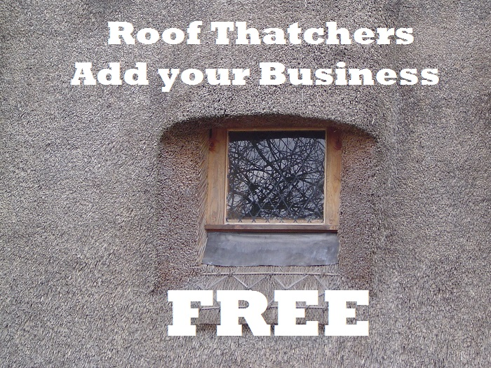 FREE Listing for Roof Thatchers – Add Your Business Now