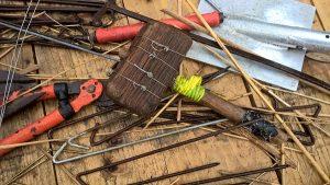 Roof Thatcher's Tools