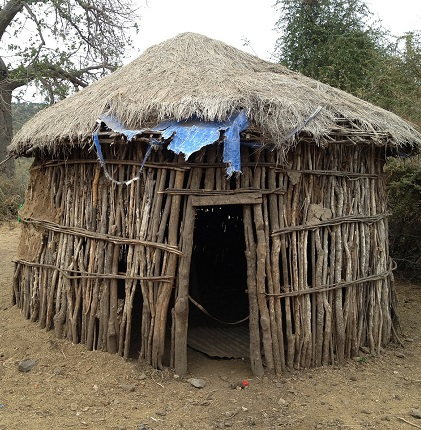 Thatched Roof in Africa.