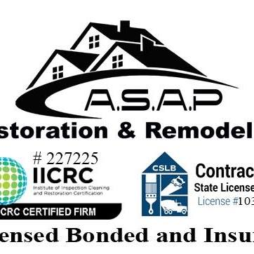 ASAP RESTORATION and REMODELING