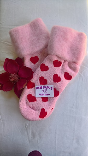Lipstick with Red Hearts Brushed Wool Glamping Bed Socks.jpg