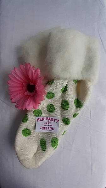Winter White Brushed Wool Glamping Sock Featuring Apple Spots.jpg
