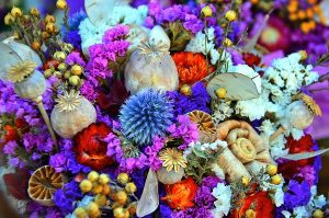 Colourful Dried Flowers