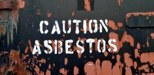 Caution asbestos