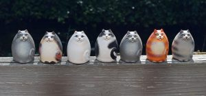 Selling crafts - ceramic cats