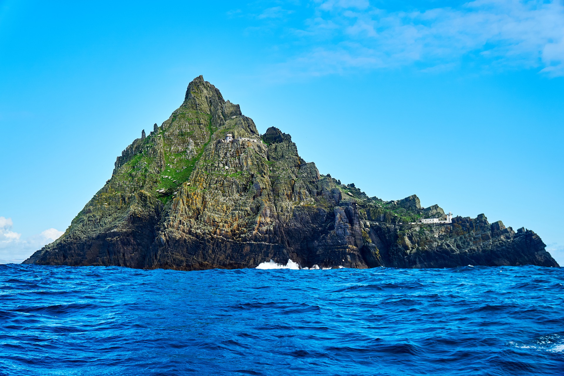 Skellig Michael, filming lcoation for the new Star Wars trilogy