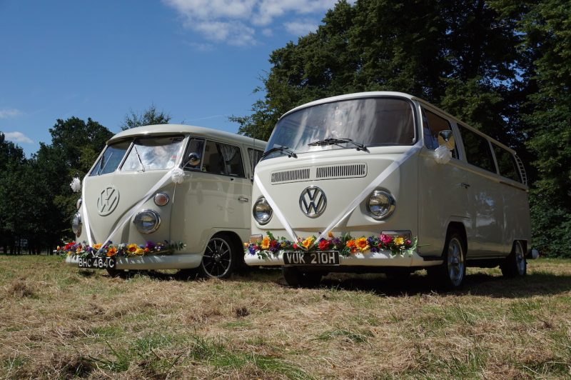 The White Van Wedding Company – Wedding Cars