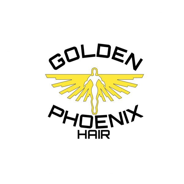 Golden Phoenix Hair