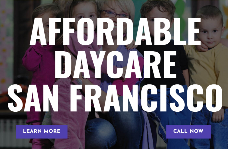 Affordable Daycare San Francisco