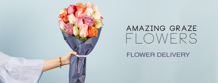 On Time Flower Delivery Melbourne – Amazing Graze