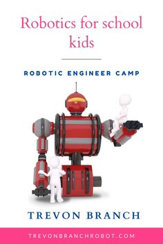 TREVON BRANCH ROBOT ENGINEERING AND GAME PLAY CAMP