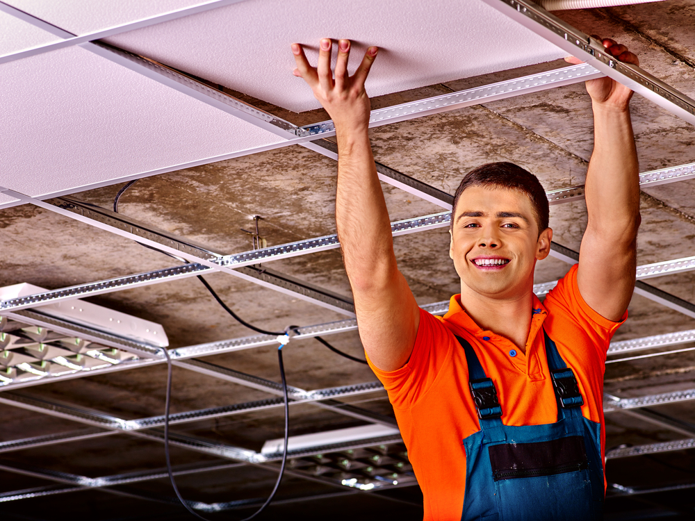 Fitting a Suspended Ceiling