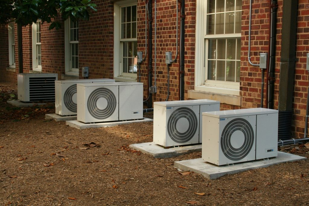Air conditioner Units outside building