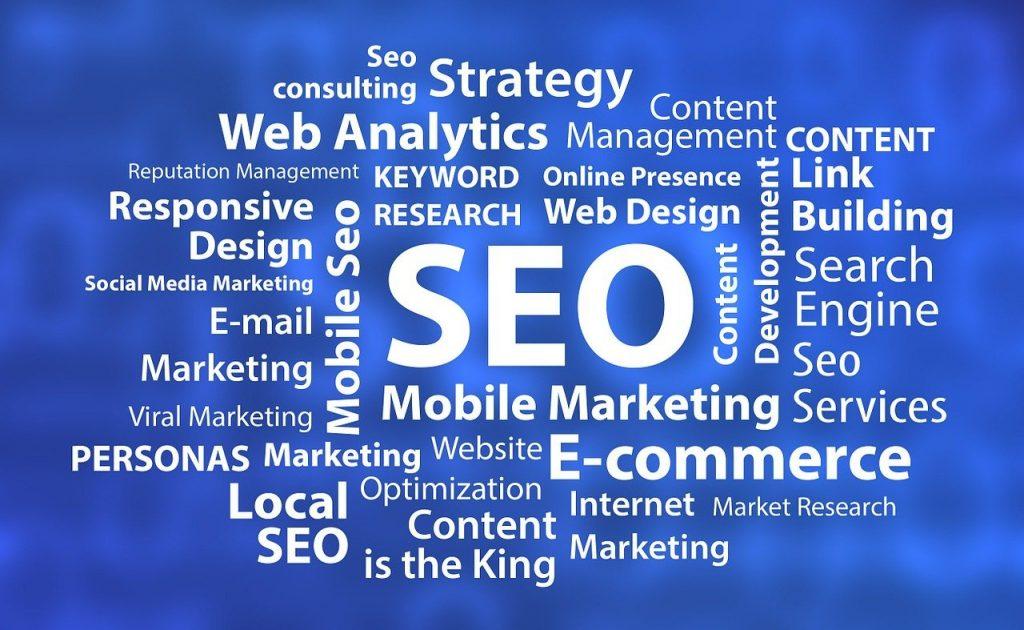 SEO - Search Engine Optimisation Image