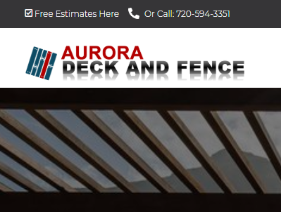 Aurora Deck and Fence