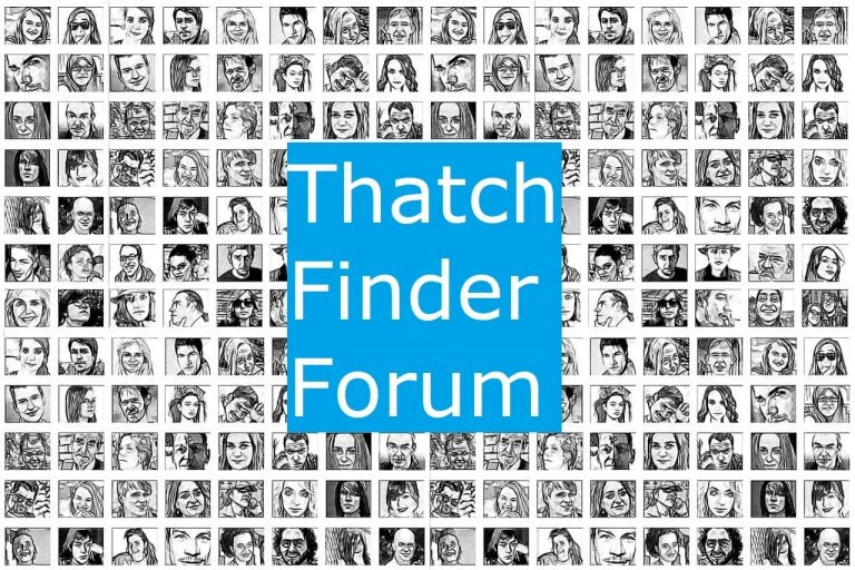 Thatch Finder Community Forum